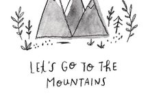 Camping + The Great Outdoors / Wild and free adventures. Usually involving tents and s'mores.