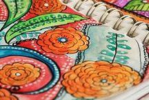 ART | Journaling / Art Journaling Inspiration, Tutorials, & Ideas.