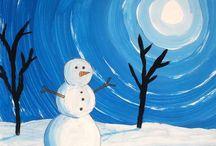 Art et bricos hiver