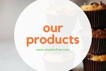 Our Products / Follow for gluten free, grain free, dairy free, soy free, and peanut free products including paleo cookies, muffins, scones, breads, crackers, and more.