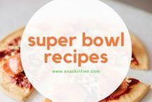 Super Bowl Recipes / Who says Super Bowl snacks can't be dairy, gluten, and peanut free?
