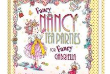 Fancy Nancy Tea Parties! / Ideas for a très chic tea party from hostess extraordinaire, Fancy Nancy! Tea party ideas inspired by the personalized book, Fancy Nancy Tea Parties from putmeinthestory.com / by Put Me In The Story