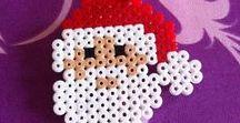 Hama Noël Perler Beads