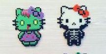 Perles Hama Hello Kitty