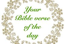 YOUR BIBLE VERSE OF THE DAY / Did the Lord speak to you through His Word today? Please share the Bible verse(s) that stood out for you.  You're not under obligation to pin everyday!  Love and blessings!
