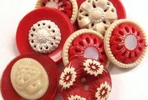 Haberdashery Heaven! / I love old haberdashery! Lovely buttons,buckles lace, trims and more.