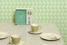Fifties Homes Inspiration / Mid century modern style inspiration for the home.