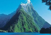The Beauty of Mountains and Lakes / A collection of beautiful mountain and lake scenes