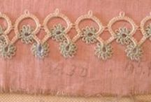 Tatting / Pretty and delicate #lace and #jewellery made with the traditional #lacemaking technique of #tatting