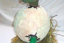 VÝTVARKA - KAŠÍROVÁNÍ / výtvarná výchova 2. stupeň, paper mache, kašírování, elementary art, výtvarná výchova, Romana Bachelová