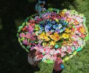 VÝTVARKA - KVĚTINY, JARO / výtvarná výchova 2. stupeň, jaro, květ, kytka, květiny, list, mandala, motýl, brouk, Romana Bachelová