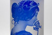 Art Nouveau Glass Beauties / Here are things that we love!