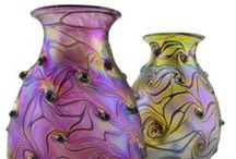 Art Nouveau contemporary glass by Iricape / Here are our new arrivals! If you like our style visit our online store on www.iricape.com and enjoy more iridescent glass