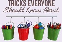 Storage ideas / Ideas to keep your home tidy and ensure you can always find what you are looking for.