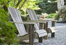 lazítás a kertben - relax in garden