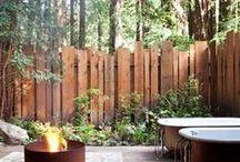 térhatárolók a kertben - falak, kerítések, sövények, paravánok