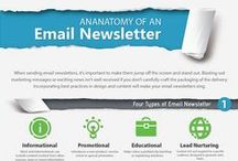 Newsletters / Newsletter design - ideas for online and print. Headers, footers and all the text and images in between.