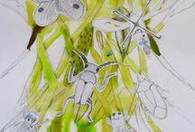 VÝTVARKA - ZVÍŘATA / výtvarná výchova 2. stupeň, zvíře, zvířata, zvířátko, Romana Bachelová