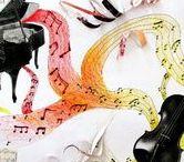VÝTVARKA - VĚCI, PŘEDMĚTY / výtvarná výchova 2. stupeň, předmět, věc, hudba, hudební nástroj, kniha, židle, Romana Bachelová