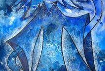 VÝTVARKA - BARVY / výtvarná výchova 2. stupeň, barva, barvy, kontrast, Romana Bachelová
