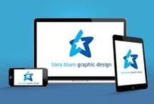 Liora Blum Graphic Design / We help marketing teams by designing campaigns for print and web so their companies gain international recognition.