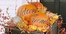 Thanksgiving and Fall Decor / Decorating ideas for the Thanksgiving and Fall Season
