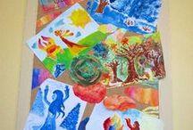 VÝTVARKA - BYTOSTI / výtvarná výchova 2. stupeň, bytost, pohádka, skřítek, Romana Bachelová