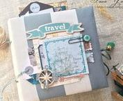Scrap/Album/Travel-Tarhankut / 7dots, Prima Marketing, scrap, album, mini, travel, photo, handmade