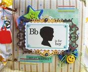 Scrap/Album/American boy / scrap, craft, boy, american style, Echo Park, photo, minik, album, handmade