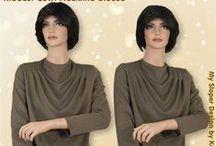 Tzanua, Tznius, Modest and Kosher Tops, Skirts, Dresses / Handmade-to-order Custom Bespoke Apparel