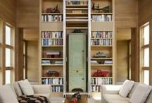 "Home Libraries / ""To add a library to a house is to give that house a soul.""  ― Cicero"