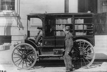 Books on the Go.... / Book Mobiles