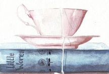 Tea, a drink with jam and bread... / Tea & Books!