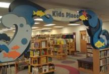 Cool Kid's Library / Children's Library Ideas, Designs, Displays etc...