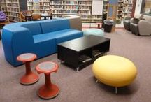 Teen Library Spaces / Cool Library Teen Spaces, Decor, Display, Ideas & more!