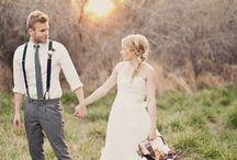 Wedding style - suspenders