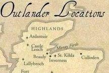Helyszínek / Outlander scenes