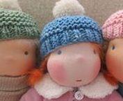 DIY - Puppen und Puppenkleidung / Anleitungen und Schnittmuster für einfach zu nähende Stoffpuppen und ihre Kleidung