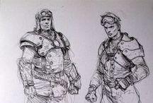 Artist Sketch