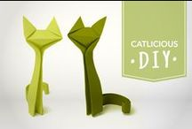 Catlicious DIY - Do It Yourself / All the cute catlicious things you can do on your on to make yourself or your cat happy.