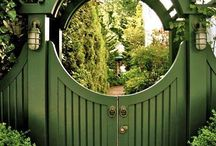 Garden sheds, gates, general ideas. / All appreciation of ideas: Sheds..plants,potting,types,remedies