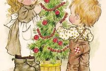 Sarah Kay Art / When I was about 4 years old I had my first Sarah Kay book. Oh, how I loved (and still love) her illustrations and to draw children that looked like little girls and boys from Sarah Kay´s world. So much inspiration! Thank you, Sarah Kay!