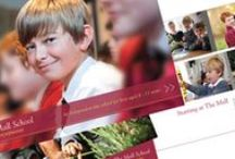 School Prospectuses / We love working with schools to create stunning prospectuses that really show the spirit of individual schools.