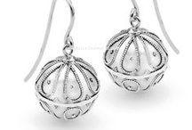 Harmony Ball Earrings / Bella Donna Silver Harmony Ball Earrings