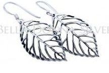 Earrings / Bella Donna Silver Sterling Silver Earrings