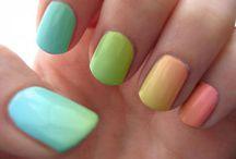 Nails / Nail, colours etc.