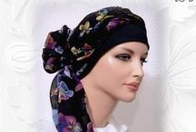 2-in-1 Head Scarf with Cap / Convenient 2-in-1 head scarf with cap, easy to wear, easy to wrap and tie.