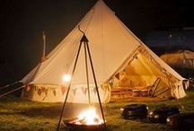 Glamping / Why camp when  you can glamp?!