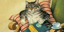Purrrr...fectly Good Book! / Cats and Books - there is no better combo! Well, maybe throw in a cup of tea! :-)