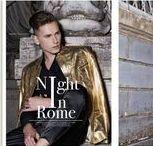 NIGHT IN ROME PUBLICATION PROMO MAGAZINE MARCH 2017 / www.menfashionmadness.blogspot.com